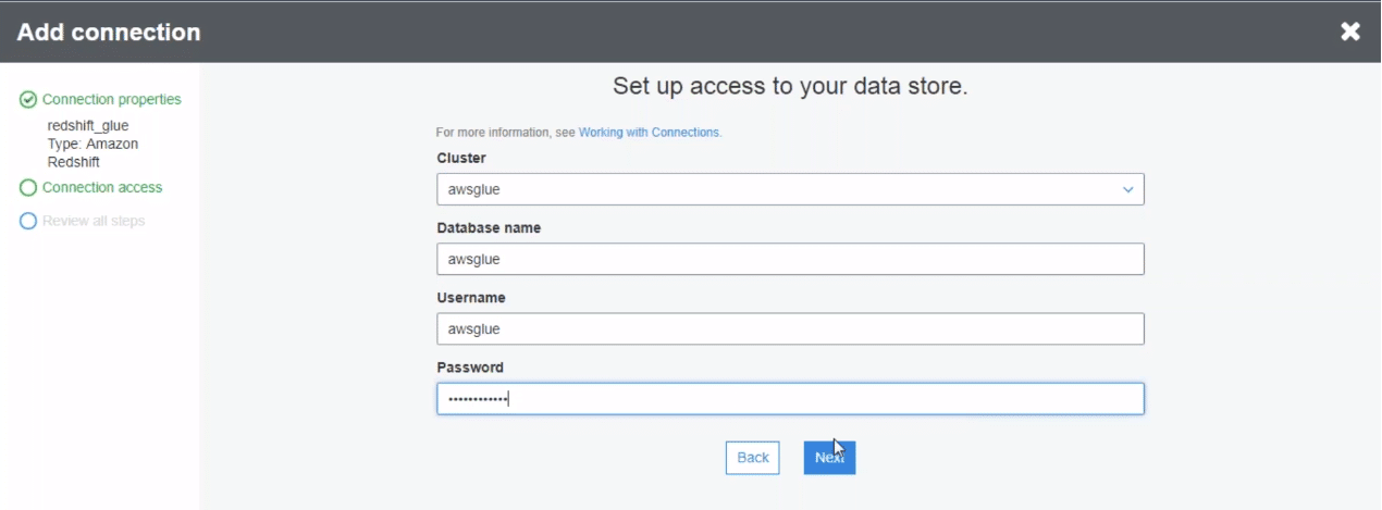 Use Amazon Glue Component to Store Metadeta | Blog