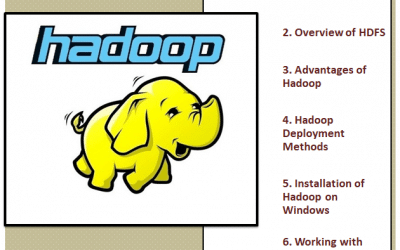 introduction to hadoop on windows
